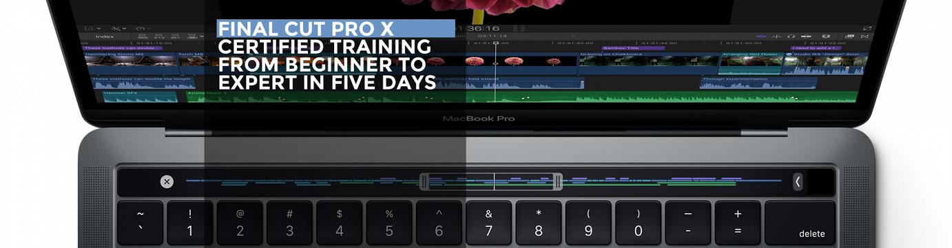 Final Cut Pro X Training Courses